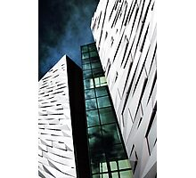 Titanic Museum Blue Phase Photographic Print