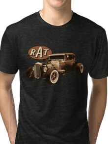 RAT - Black Rat Tri-blend T-Shirt