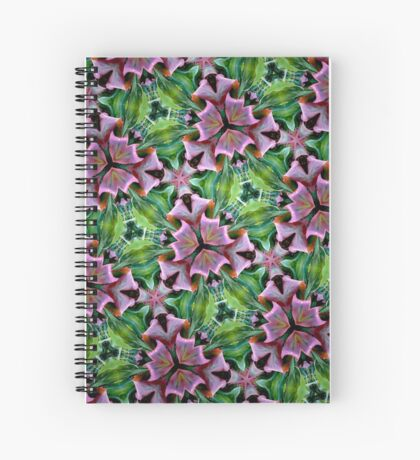 Ti ribbons Spiral Notebook