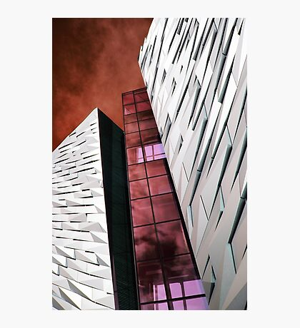 Titanic Museum In The Pink Photographic Print