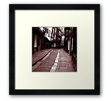 The Olde Shambles Framed Print