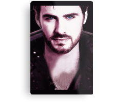 Once Upon a Time - Captain Hook Metal Print