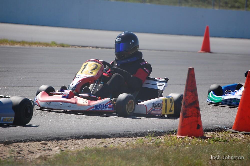 Gokart Racing by Josh Johnston