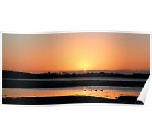 Sunrise Dundrum Bay Poster