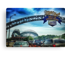 Gameday at Miller Park Canvas Print