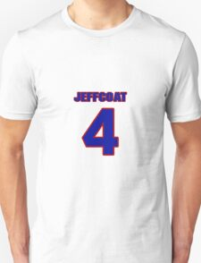 National baseball player Hal Jeffcoat jersey 4 T-Shirt