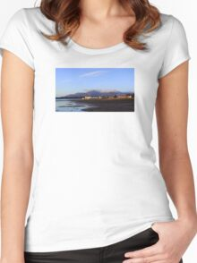 Mournes View Women's Fitted Scoop T-Shirt
