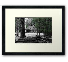 Carter Shields Cabin VIII Framed Print
