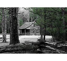 Carter Shields Cabin VIII Photographic Print