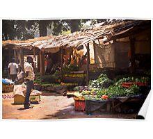 Lilongwe Market Poster