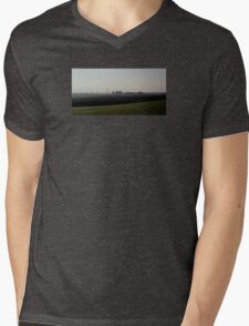 Misty Morning Mens V-Neck T-Shirt