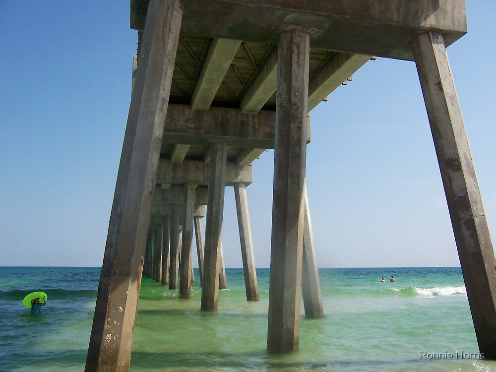 Under The Board Walk. by Ronnie Norris