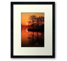 Sydenham Sunrise Framed Print