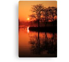 Sydenham Sunrise Canvas Print