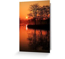 Sydenham Sunrise Greeting Card