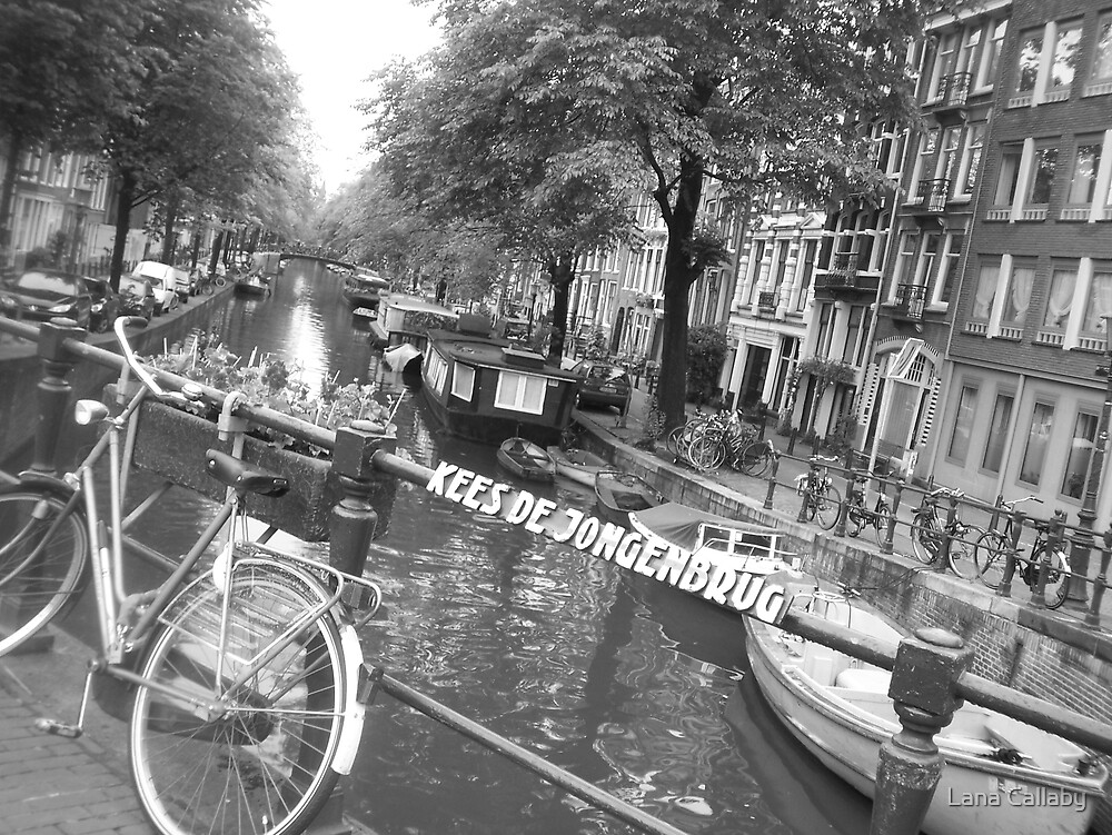 Amsterdam in Black & White by Lana Callaby