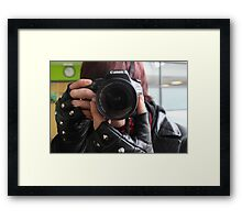 Reverse Photography Framed Print