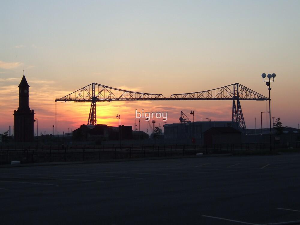 the transporter bridge by bigroy