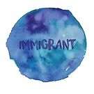 Immigrant Watercolor by Dave Texidor