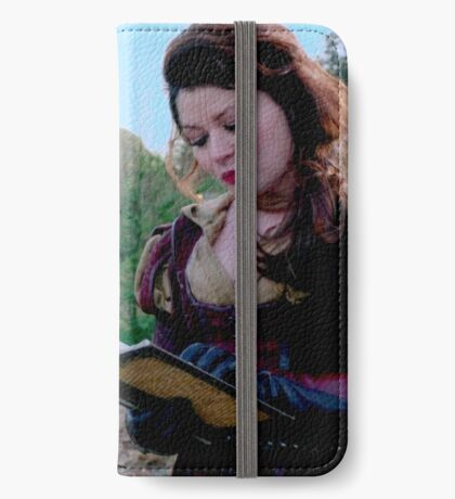 TV Show: Once Upon A Time (Belle) iPhone Wallet/Case/Skin