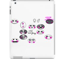 I have mixed Feelings iPad Case/Skin