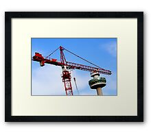 The skies over Liverpool Framed Print