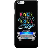 Rock and Roll City iPhone Case/Skin