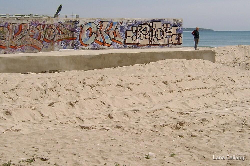 Grafitti Wall, Varna (Bulgaria) by Lana Callaby