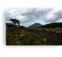 Mourne Country View Canvas Print