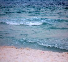 Sand and Sea. by Ronnie Norris