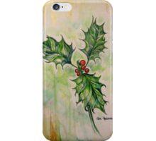 Ilex aquifolium or Holly 2 iPhone Case/Skin