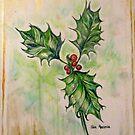 Ilex aquifolium or Holly 2 by Gea Austen