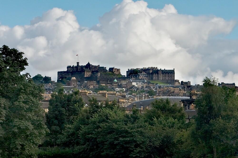 Edinburgh Castle Stands Proud by Chris Clark