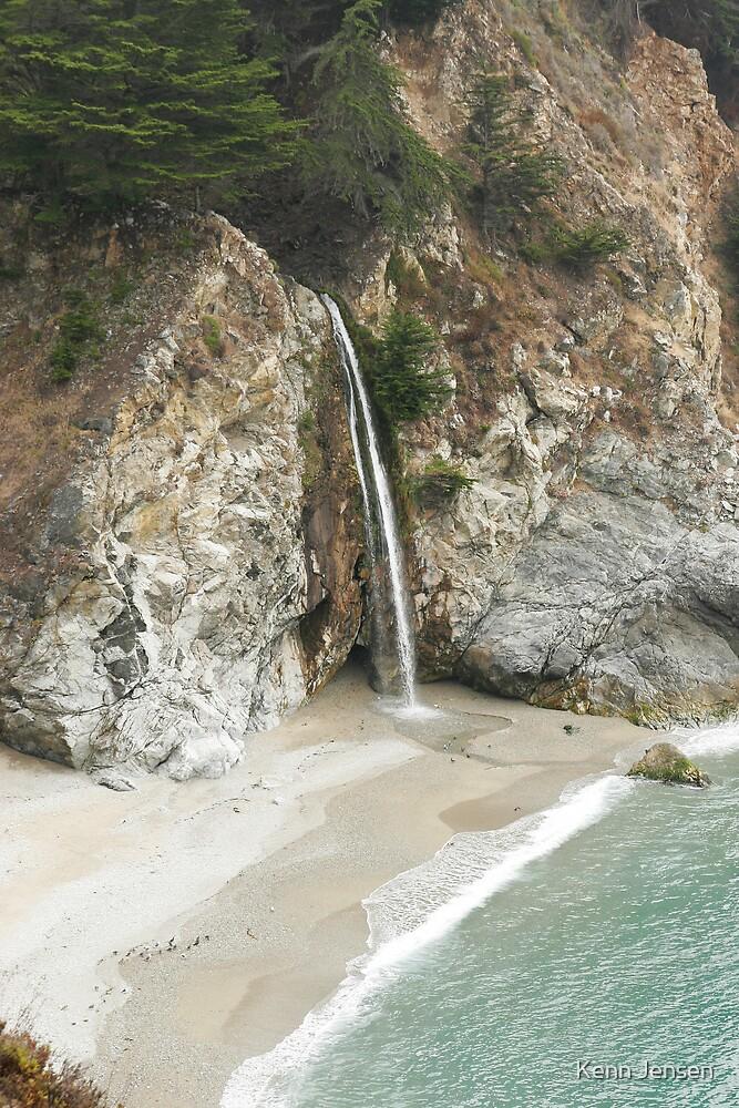 McWay Falls, Big Sur by Kenn Jensen
