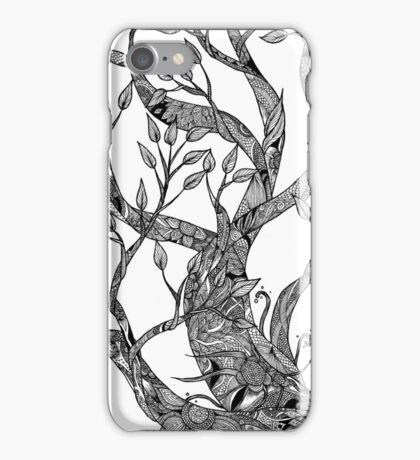 Tree of Lines iPhone Case/Skin