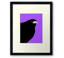 THE OLD CROW #2 Framed Print