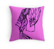 Caucasian Asian - Series 2 Throw Pillow