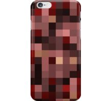 Minecraft Netherrack Block iPhone Case/Skin
