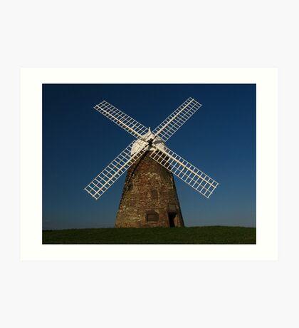 Halnaker Windmill Art Print