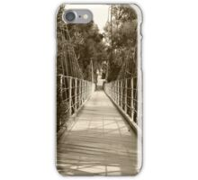 1912 Suspension Footbridge  iPhone Case/Skin