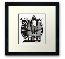 The Force Abides Framed Print
