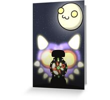 Moon & Mask Greeting Card