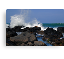 Causeway Waves Canvas Print