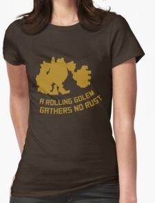 Blitzcrank - A rolling golem gathers no rust Womens Fitted T-Shirt