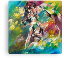 Dancin' Canvas Print