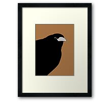 THE OLD CROW #3 Framed Print