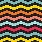 Colorful Chevron by Jeri Stunkard