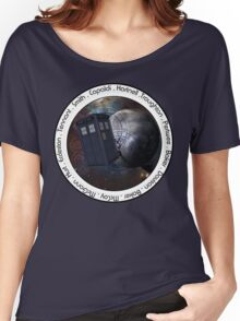 Doctor Who: The Doctors Women's Relaxed Fit T-Shirt