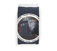 Doctor Who: The Doctors Duvet Cover