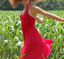 Dancing in Corn by Angela Lauer